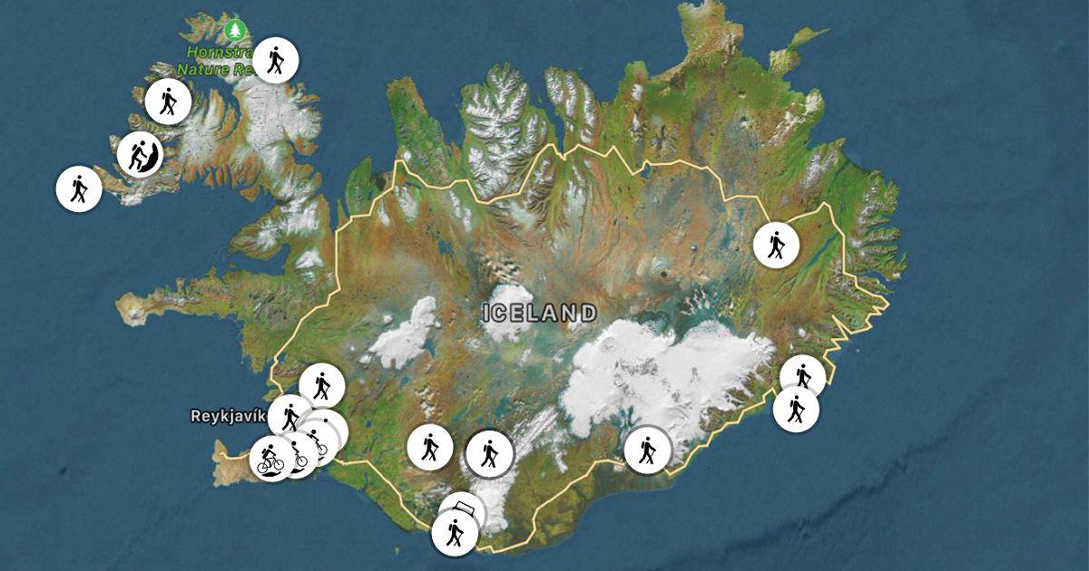 Ferðaleiðir, wikiloc, námskeið. u3a.is